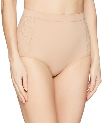 Flexee Women's Firm Foundations Tame Your Tummy Anti-Static Brief