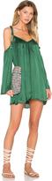 Line & Dot Rampling Mini Dress