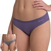 Columbia 2-pk. Omni-Wick Pretty Lace Jacquard Bikini Panty RW1C401