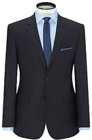 Hugo Boss Hugo James Textured Wool Regular Fit Suit Jacket, Dark Blue