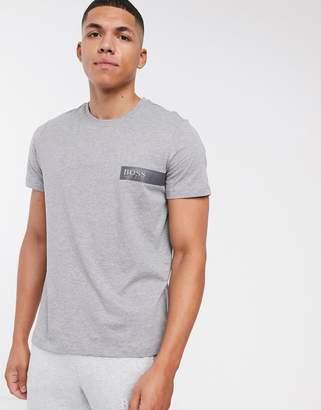 BOSS bodywear logo t-shirt in grey