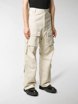 Balenciaga Straight-Leg Cargo Trousers
