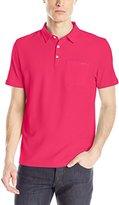 Calvin Klein Men's Liquid Cotton Short Sleeve Polo Shirt with Pocket