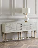 Hooker Furniture AUBREE SIX DRAWER CONSOLE