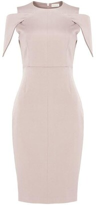 Damsel in a Dress Nicola Cold Shoulder Fitted Dress