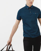 SERGE Jacquard polo shirt