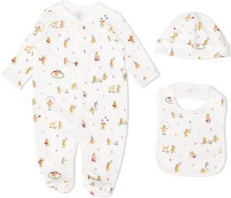 Ralph Lauren Kids Polo Bear pajama set