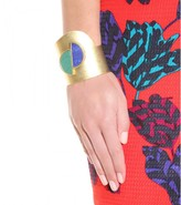 Marc by Marc Jacobs Half Circle Stone gold-toned cuff