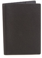 Smythson Panama Leather Passport Holder