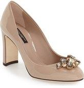 Dolce & Gabbana Block Heel Pump (Women)