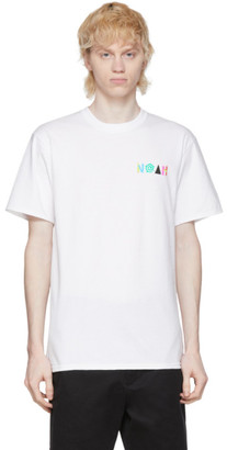Noah NYC White More Core T-Shirt