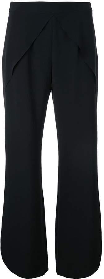 GOEN.J round hemline cropped trousers