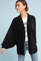 Anthropologie Velvet Dolman-Sleeve Kimono