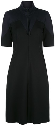 Dorothee Schumacher Fitted Colour Block Dress