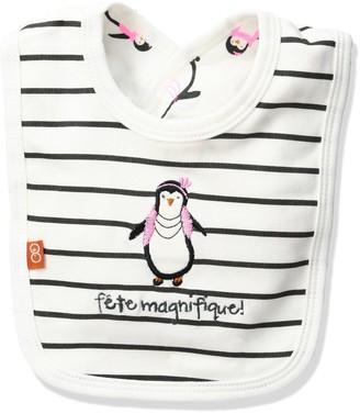 Magnificent Baby Party Penguin Reversible Bib