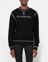 J.W.Anderson Inside Out Logo Sweatshirt