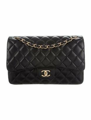 Chanel Classic Jumbo Double Flap Bag Black