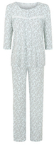 George Leaf Print Pyjama Set