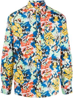 Missoni Floral Long-Sleeve Shirt