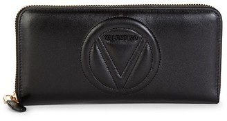 Valentino By Mario Valentino Sofia Sauvage Leather Continental Wallet