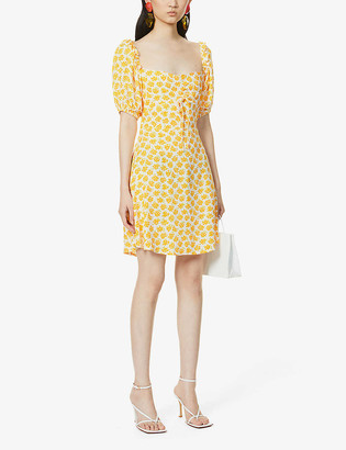 Faithfull The Brand Shimma floral-print woven mini dress