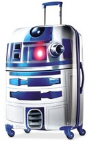 "Star Wars 65% OFF R2D2 28"" Hardside Spinner Suitcase by American Tourister"
