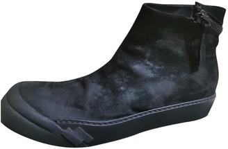 Cinzia Araia Black Suede Boots