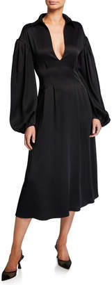 KHAITE Farrely Jersey Dress