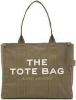 Marc Jacobs Taupe The Traveler Tote