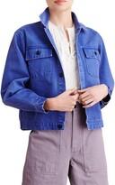 Alex Mill Washed Denim Crop Work Jacket