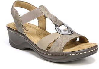 Soul Naturalizer Sunrise T-Strap Wedge Sandal - Wide Width Available