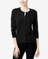 Charter Club Petite Fine Gauge Cardigan Sweater, Only at Macy's