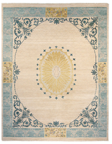 F.J. Kashanian One of a Kind Vista Hand-Knotted Wool Rug