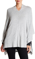 Portolano Light Grey Cashmere Poncho