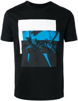 Les Hommes printed embroidered T-shirt - men - Cotton - S
