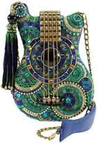Mary Frances Blue-Note Guitar Handbag