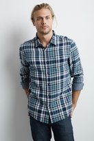Channing Plaid Button-Down Shirt
