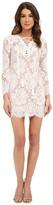 Brigitte Bailey Farrah Lace-Up Lace Dress