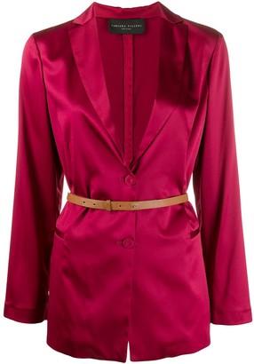 Fabiana Filippi belted waist blazer
