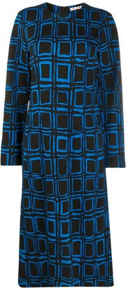 Marni Graphic Print Dress