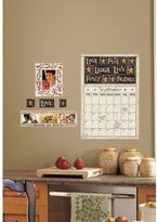 18 in. x 40 in. Family and Friends 10-Piece Peel and Stick Dry Erase Calendar