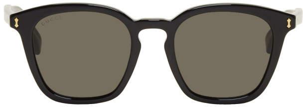 Gucci Black Opulent Luxury Simple Sunglasses