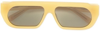 Karen Walker Baldwin rectangular sunglasses