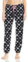 Hello Kitty Women's Pretty in Plush Pants