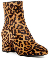 Kenneth Cole New York Noelle Genuine Calf Hair Square Toe Bootie