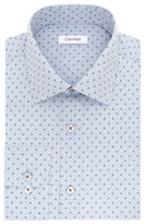 Calvin Klein Patterned Cotton Dress Shirt