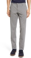 BOSS Men's Stanino Slim Fit Flat Front Solid Stretch Cotton Trousers