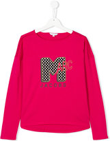 Little Marc Jacobs teen long sleeve printed T-shirt