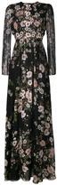 Giambattista Valli floral-print gown - women - Silk/Cotton/Polyamide/Polyester - 40