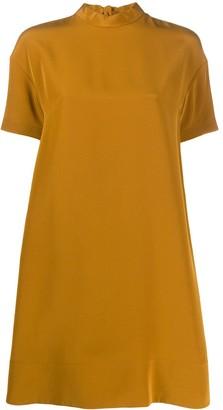Chloé High-Neck Shift Dress